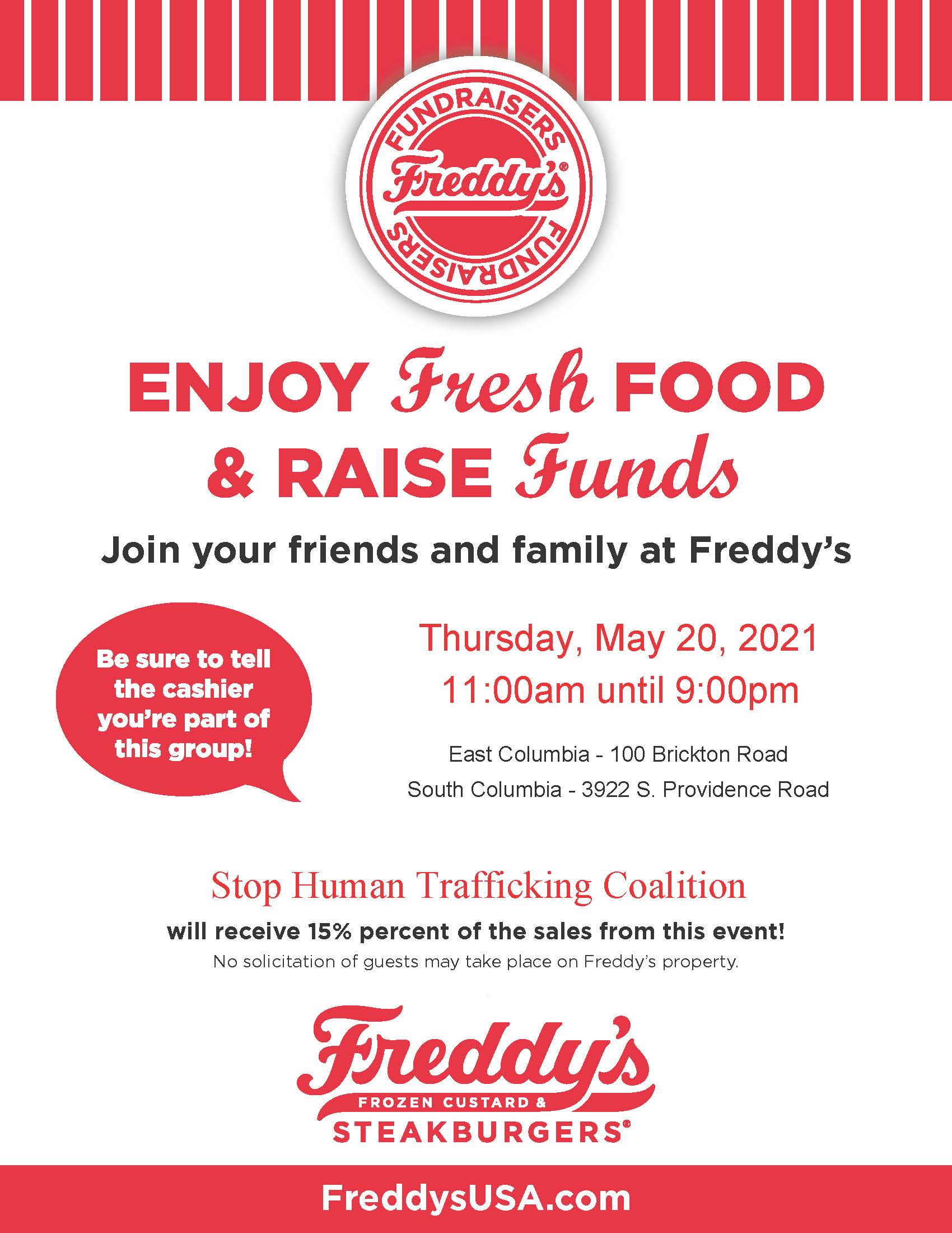 Freddy's – Stop Human Trafficking Coalition 5-20-2021